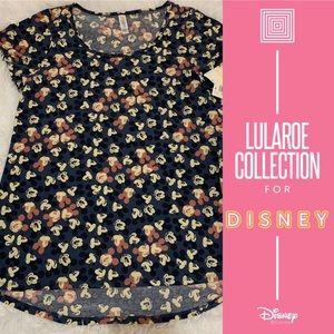 LuLaRoe Disney Mickey Mouse Classic Tee Sz Small
